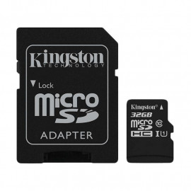 KINGSTON Bali Card MicroSDHC 32GB Class 10 UHS-I With Adapter [SDCB/32GB]