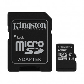 KINGSTON Bali Card microSDHC 16GB Class 10 UHS-I with Adapter [SDCB/16GB]