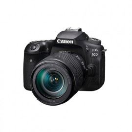 CANON EOS 90D with Lens EF-S 18-135mm f/3.5-5.6 IS USM