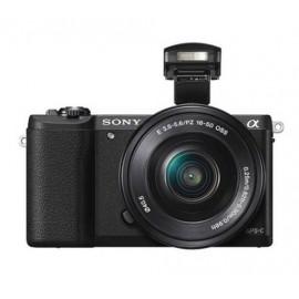 SONY Mirrorless Digital Camera Alpha a5100 ILCE-5100L/BAP2 - Black